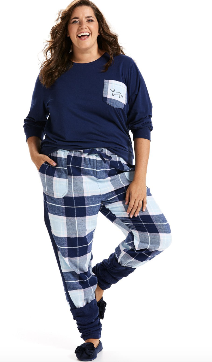 I'm hugely into pyjamas. I feel like I might own more pyjama pants than normal pants! Find these  here.