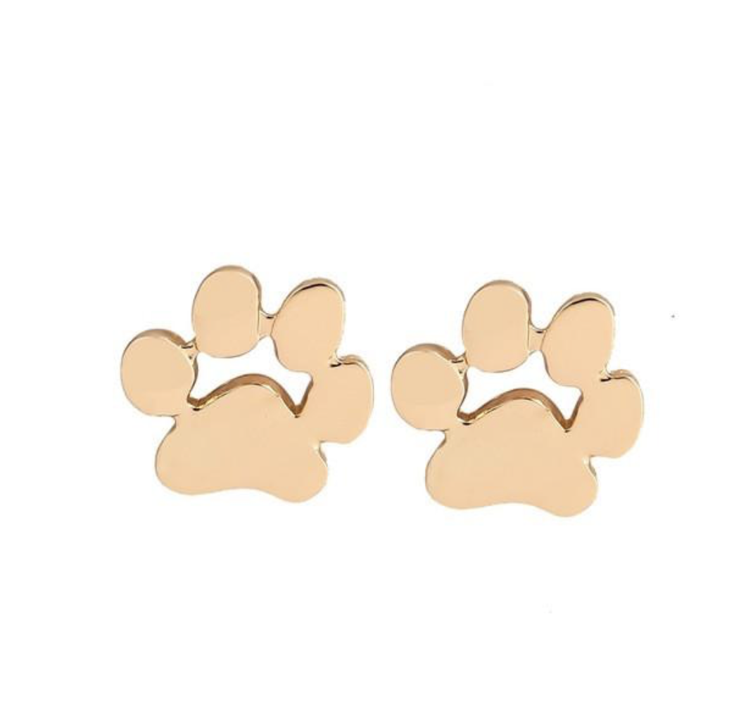 These cute paw studs will have every dog mum asking you where you got them. Find them  here.