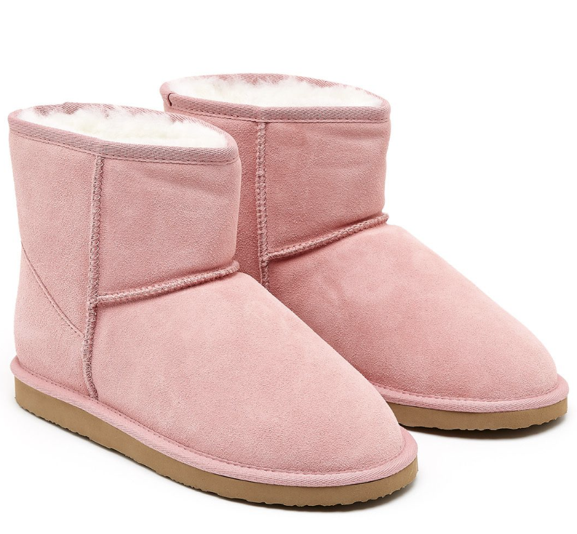 Peter Alexander home boots in pink $96 find them  here.