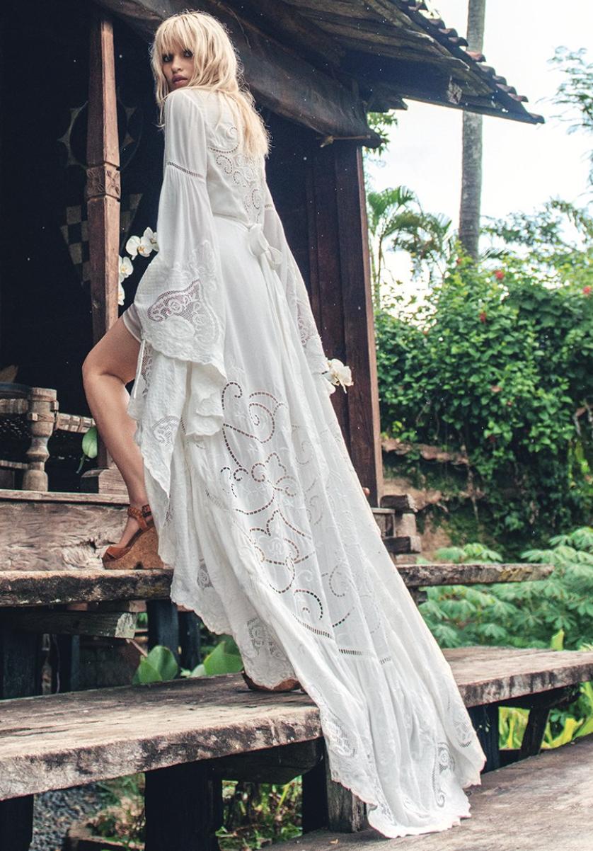 The Gwendolyn Wrap Gown$659 -