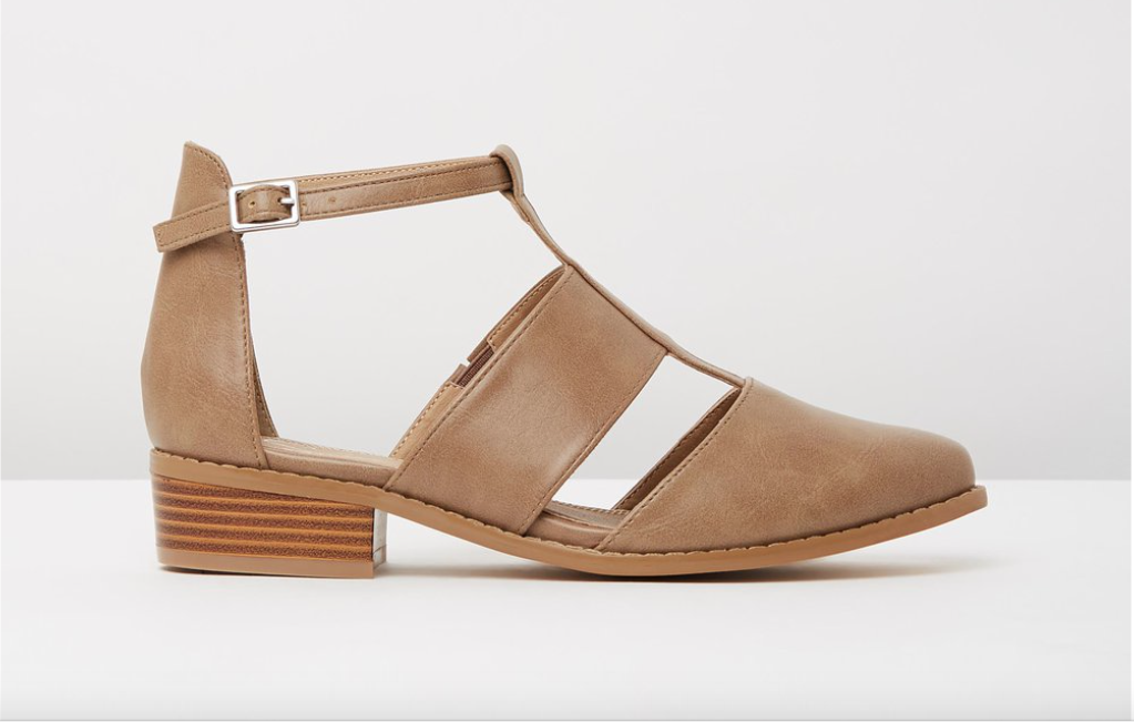 The Marcel Cut-out Flats by Spurr, on sale for $29 currently. I wear this beauties when i'm taking photos at weddings. They're really comfortable, they stay on my feet and they also look really trendy as to not give me that 'too professional' clinical outfit type look. Find them  here.