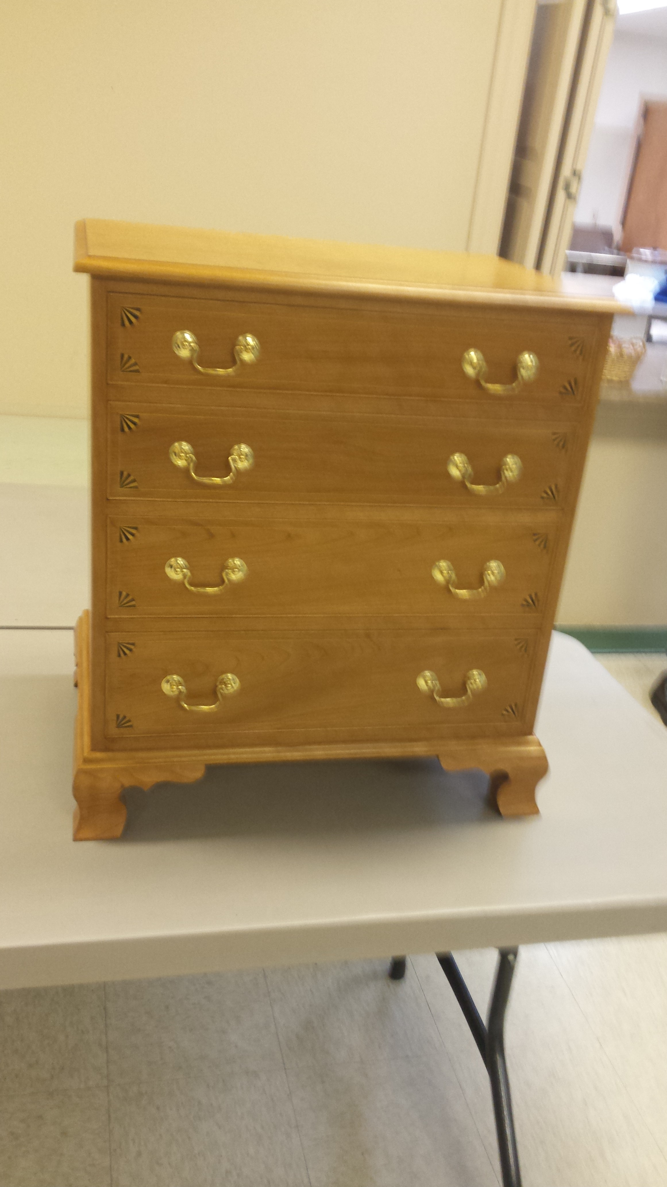 Chest made by Dave Potts