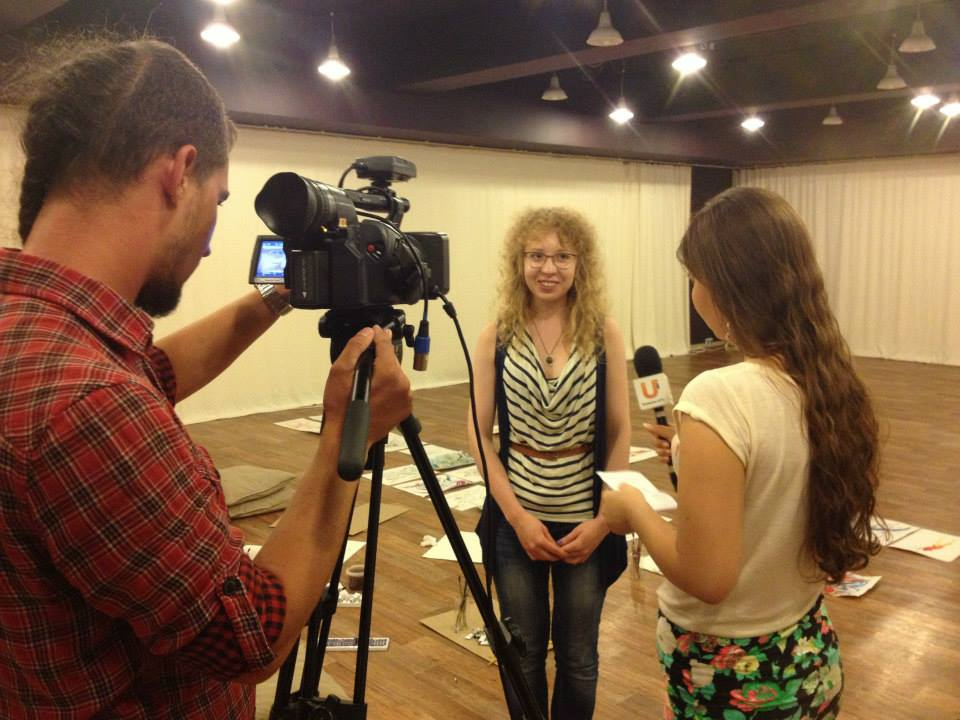 Summer 2013    — reality show for artists and designers in Ufa (Interior project)