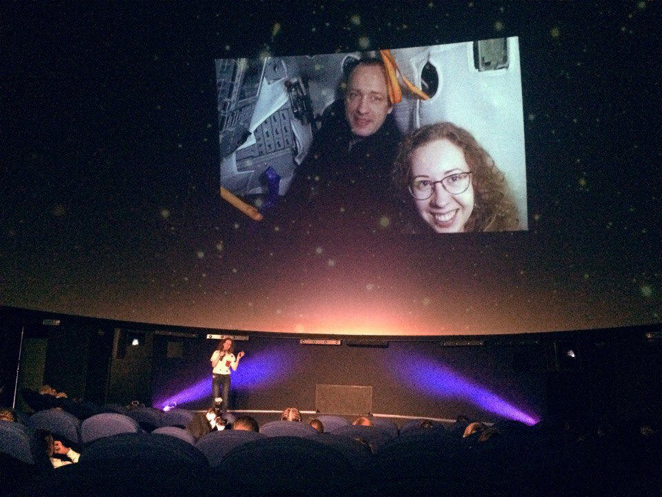 Speach under the dome - Gave a lecture for kids about