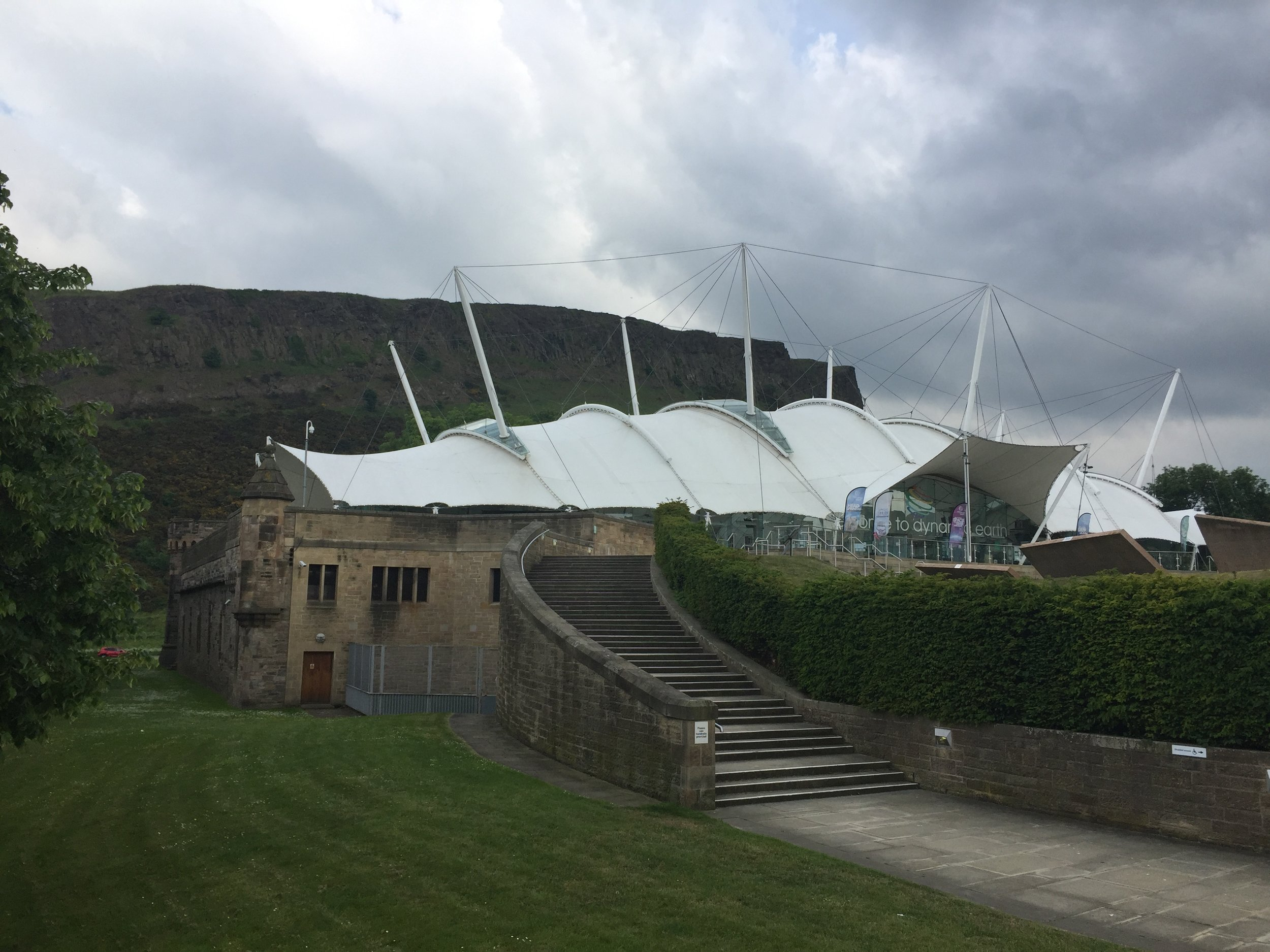 Dynamic Earth by Hopkins Architects