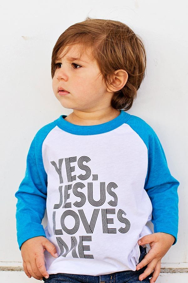 Hope Outfitters - Yes, Jesus Loves Me Shirt