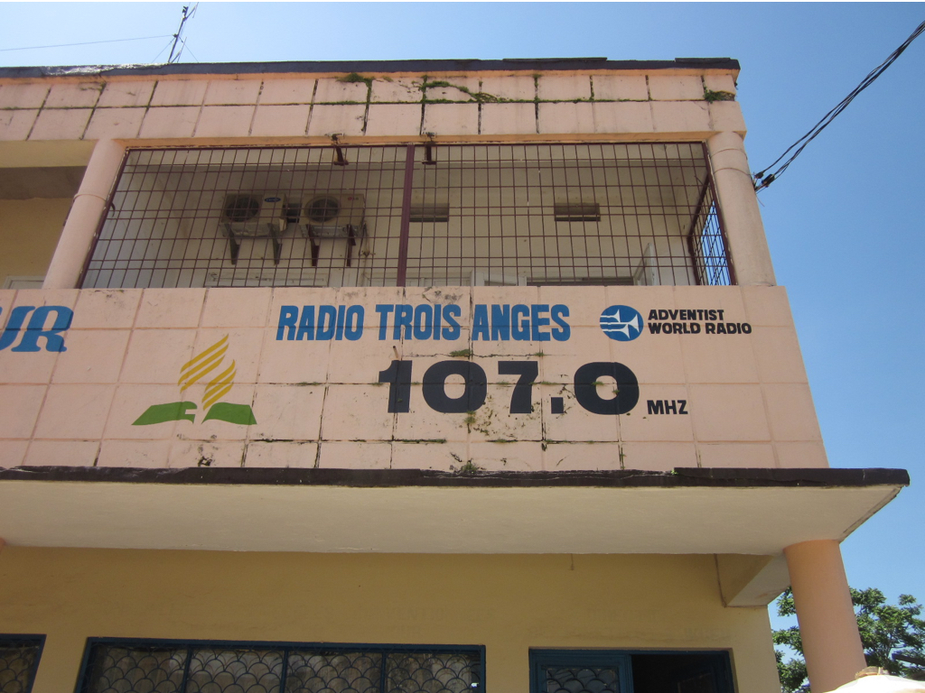 CFM Three Angels Radio Station in Kisangani