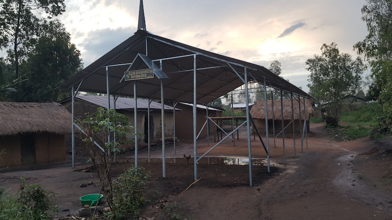 First One Day Church in the Far Eastern Province of the Congo