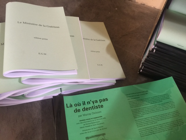 CFM's New Endeavor! Printing Medical/Dental Guides in French for the Congo