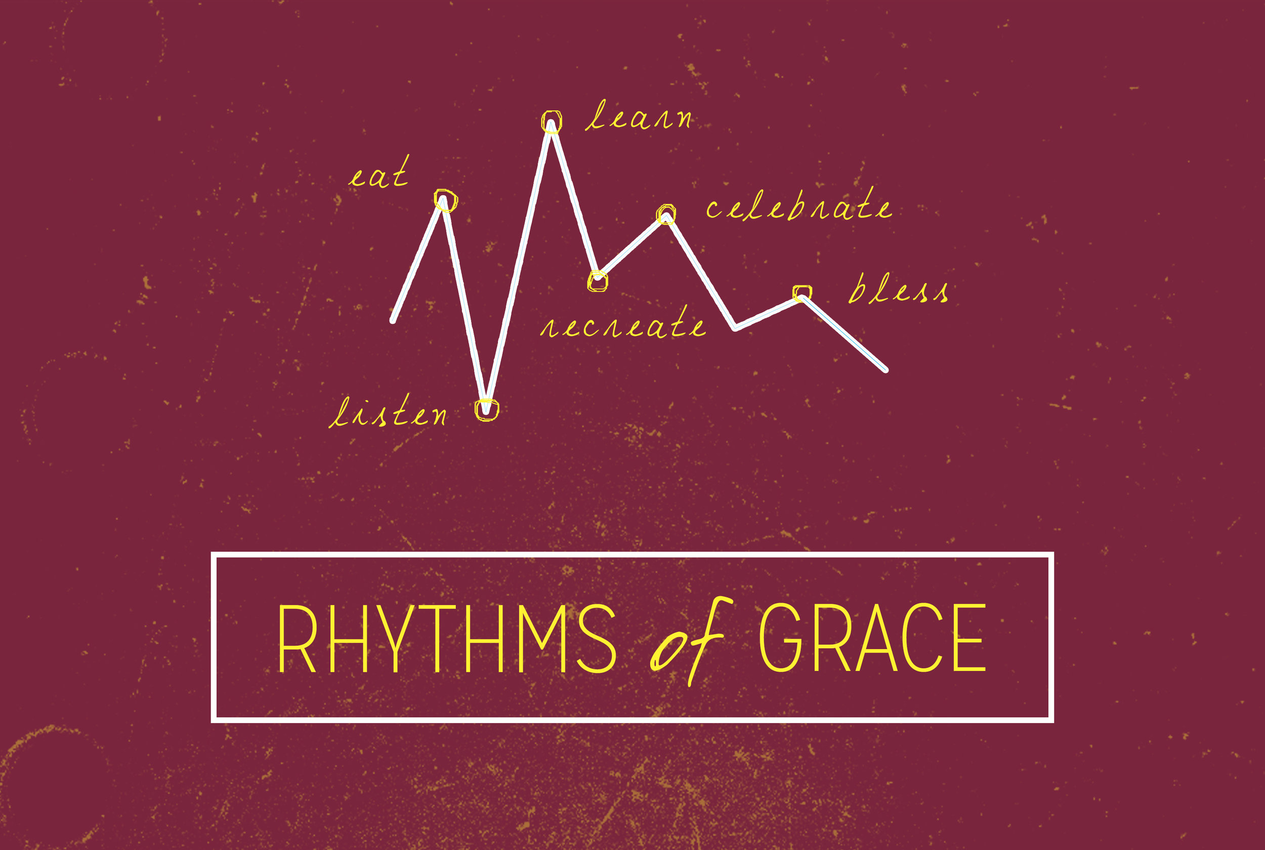 A 6-Week sermon series on how we can fold natural rhythms of grace and gospel into our every-day lives.