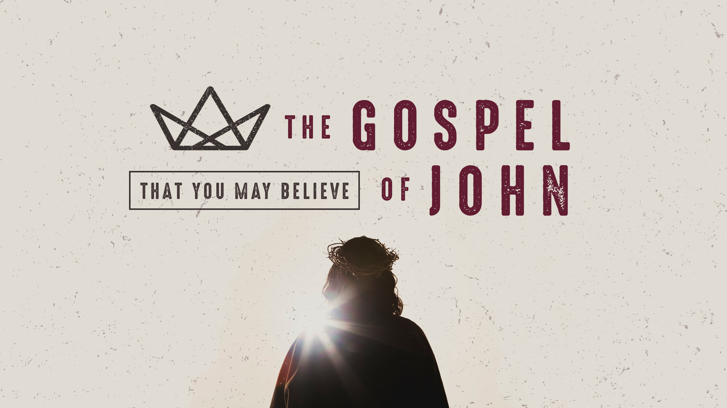 "The Apostle John wrote ""that we may believe that Jesus is the Christ, the Son of God, and that by believing you may have life in his name"" (John 20.31). This series covers John Chapters 13-19."