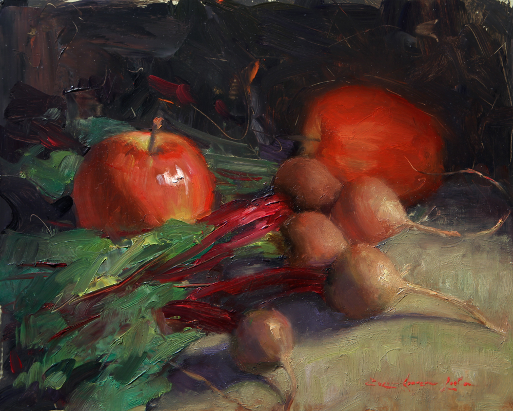 "Beets & Apples - 8"" x 10"""