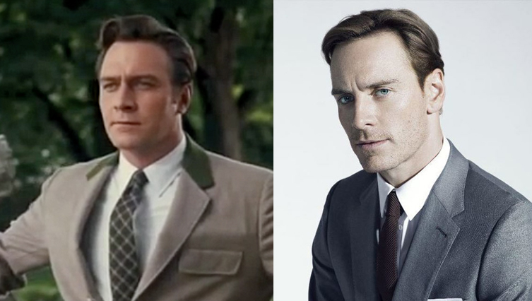 christopher plummer, michael fassbender, clone, twins, look alike