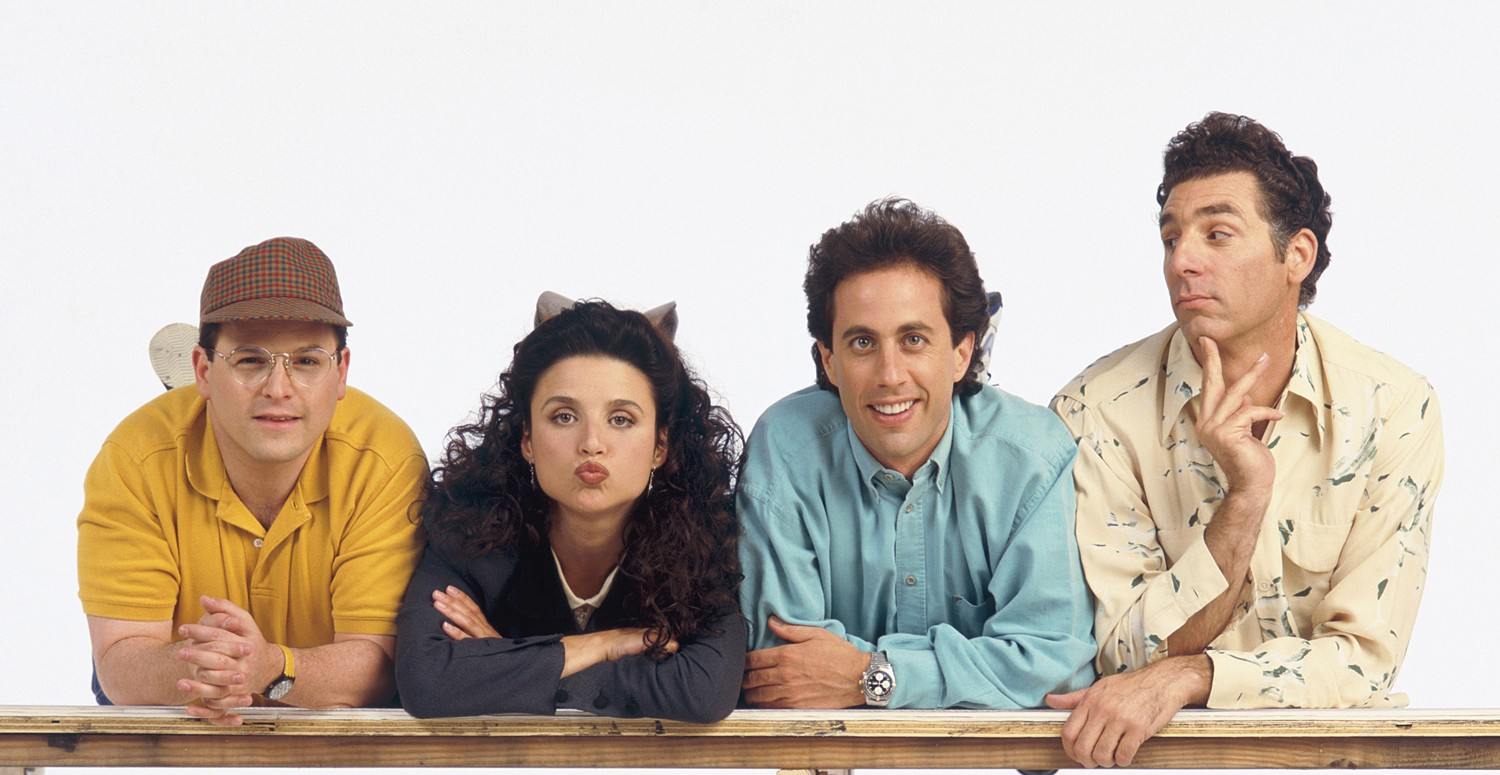 seinfeld, top tv shows, talk hard, walk softly