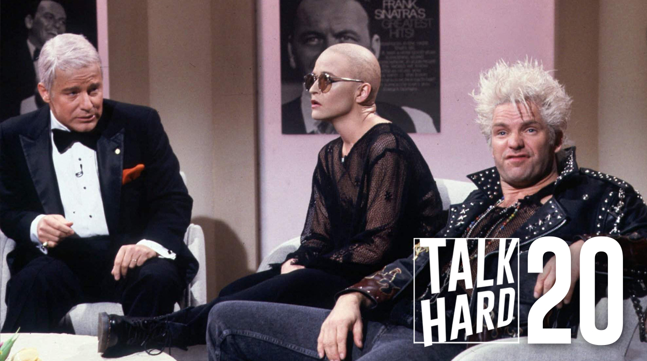 snl, hartman, sinatra, best tv, talk hard, podcast