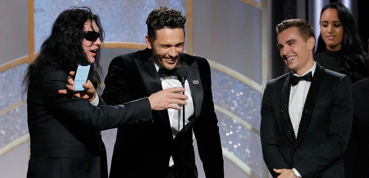 james franco, golden globes, wiseau, dave franco, disaster artist