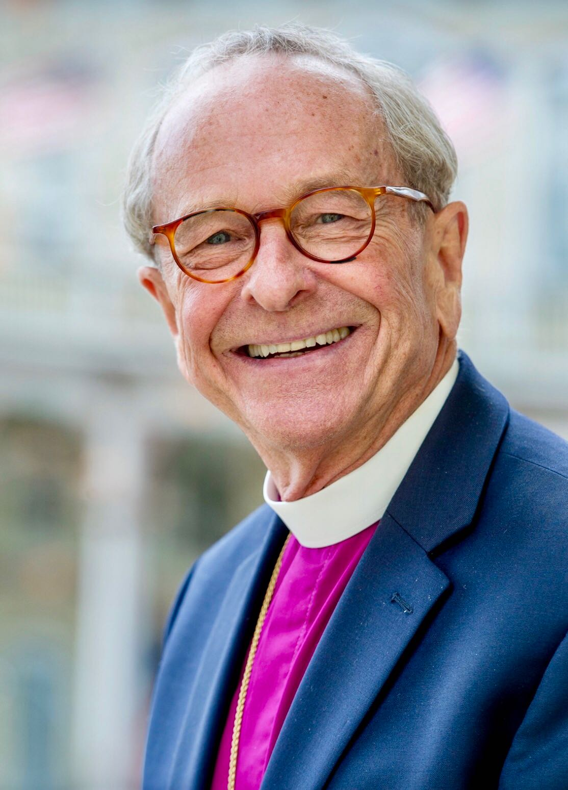Bishop Gene Robinson - First openly gay and partnered priest to become bishop in historic Christianity