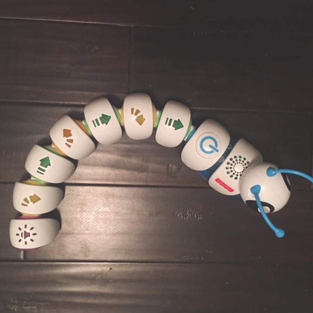 Code-A-Pillar toy