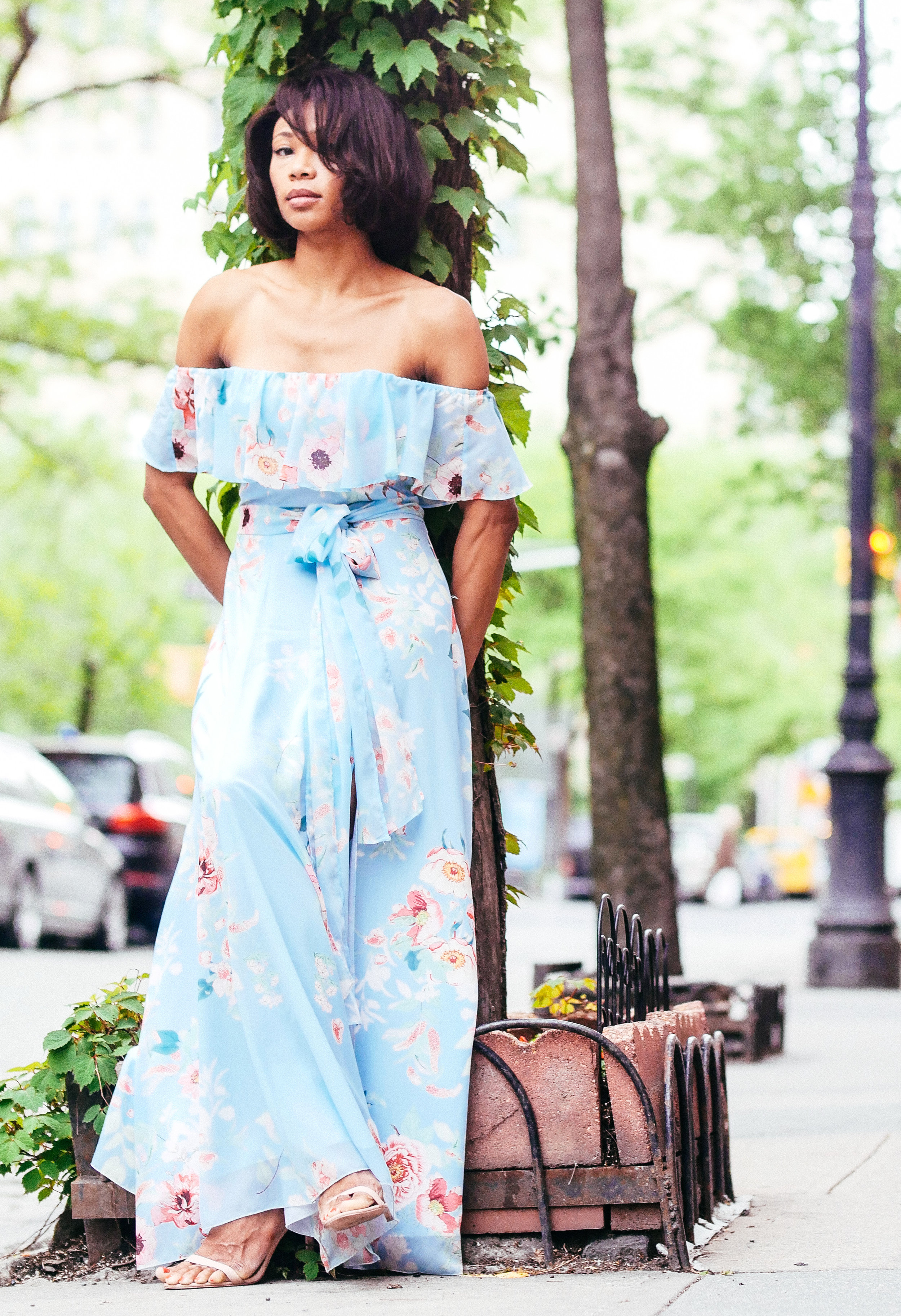 Yumi Kim Dress, Aldo Shoes