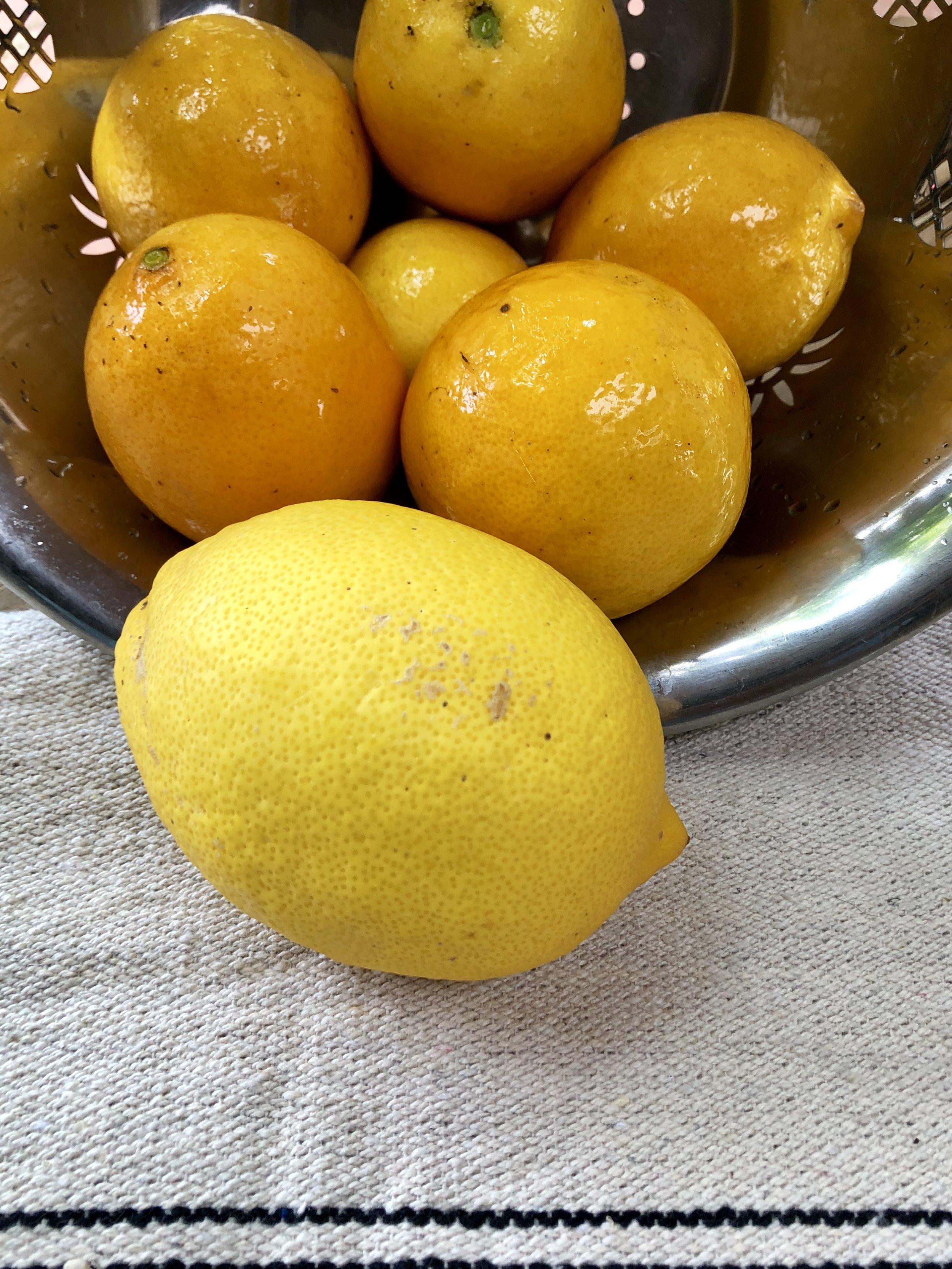 From lemons….