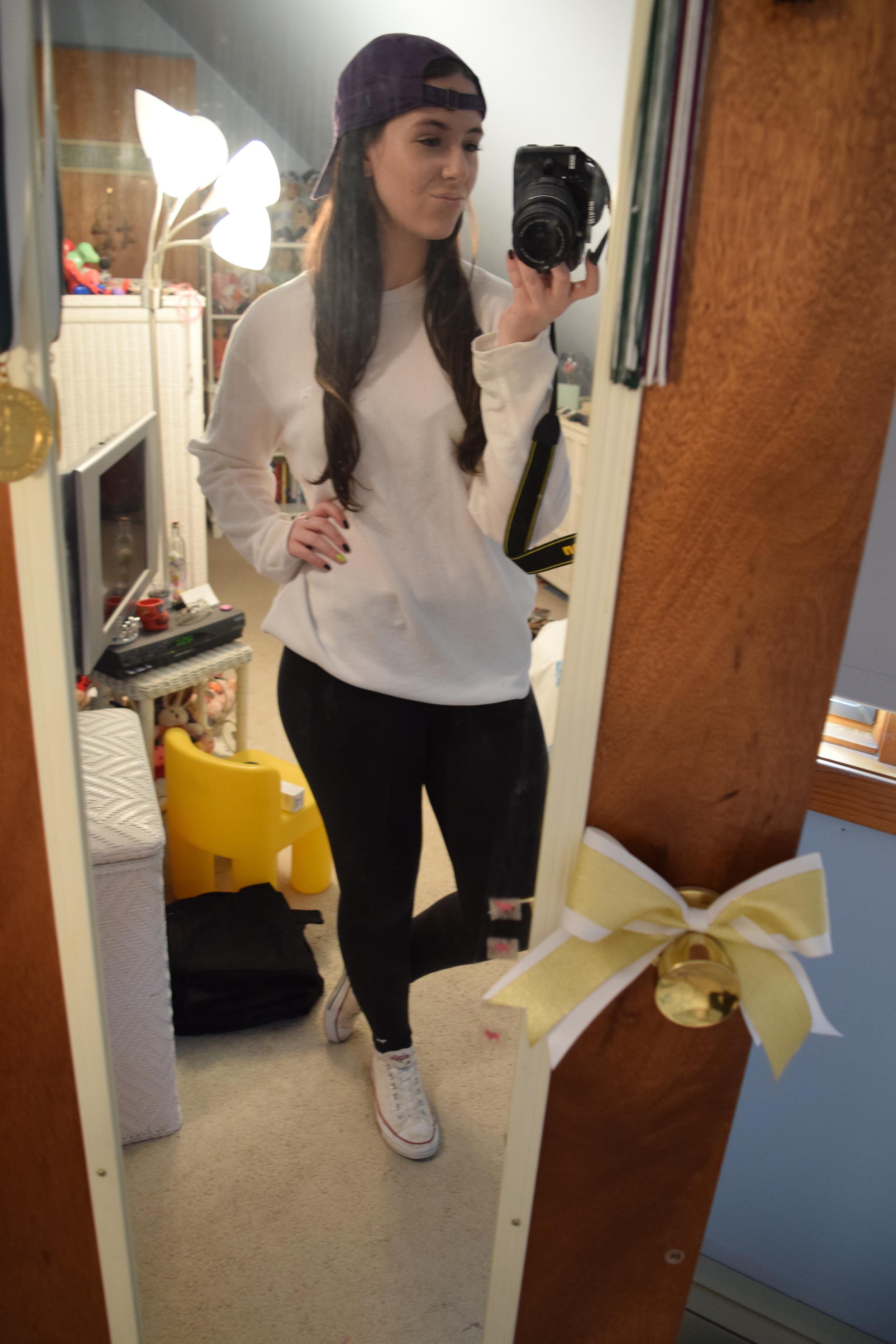 Aghh! My mirror's getting dirty again!