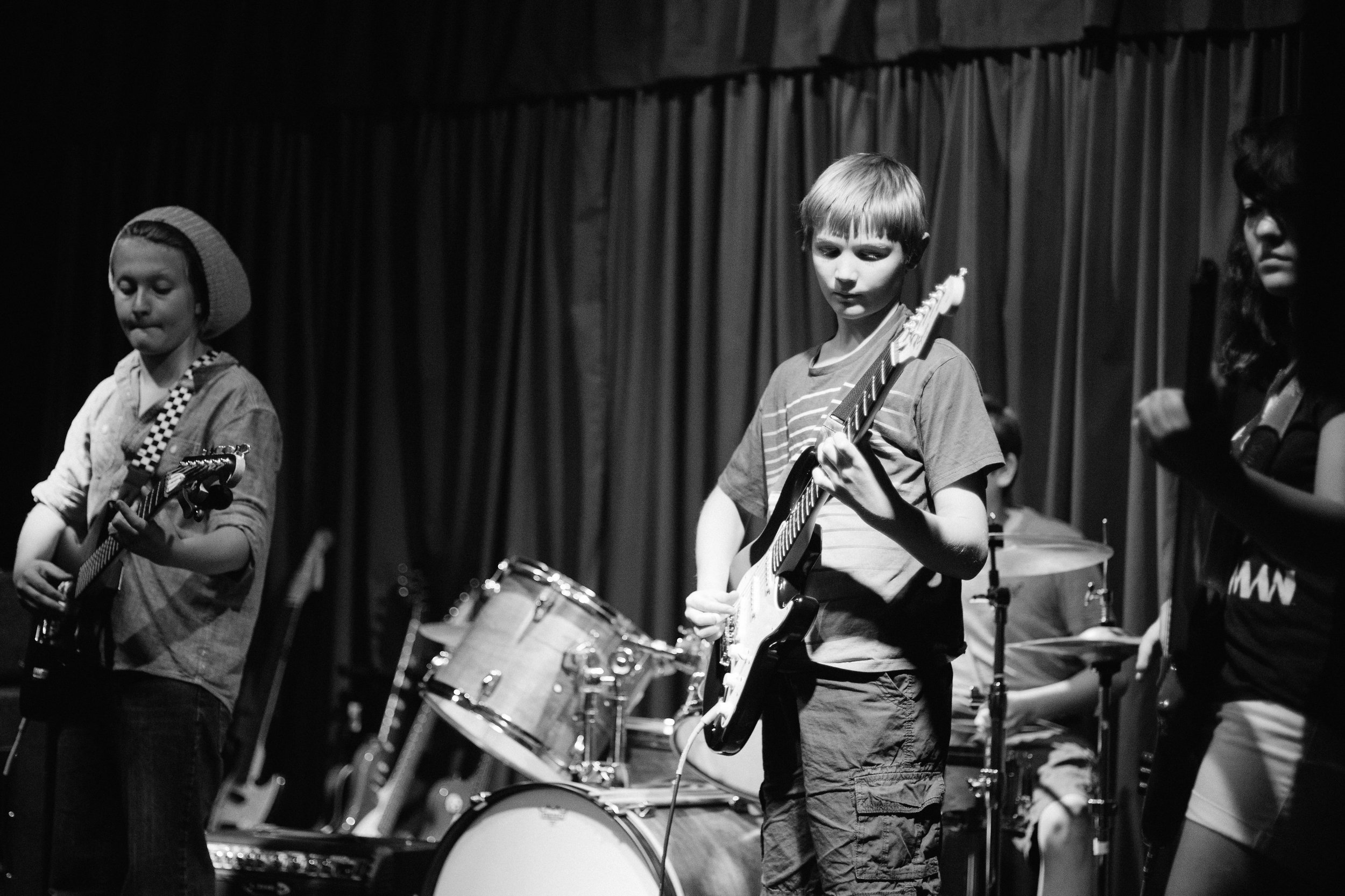 Old School_Band Performance