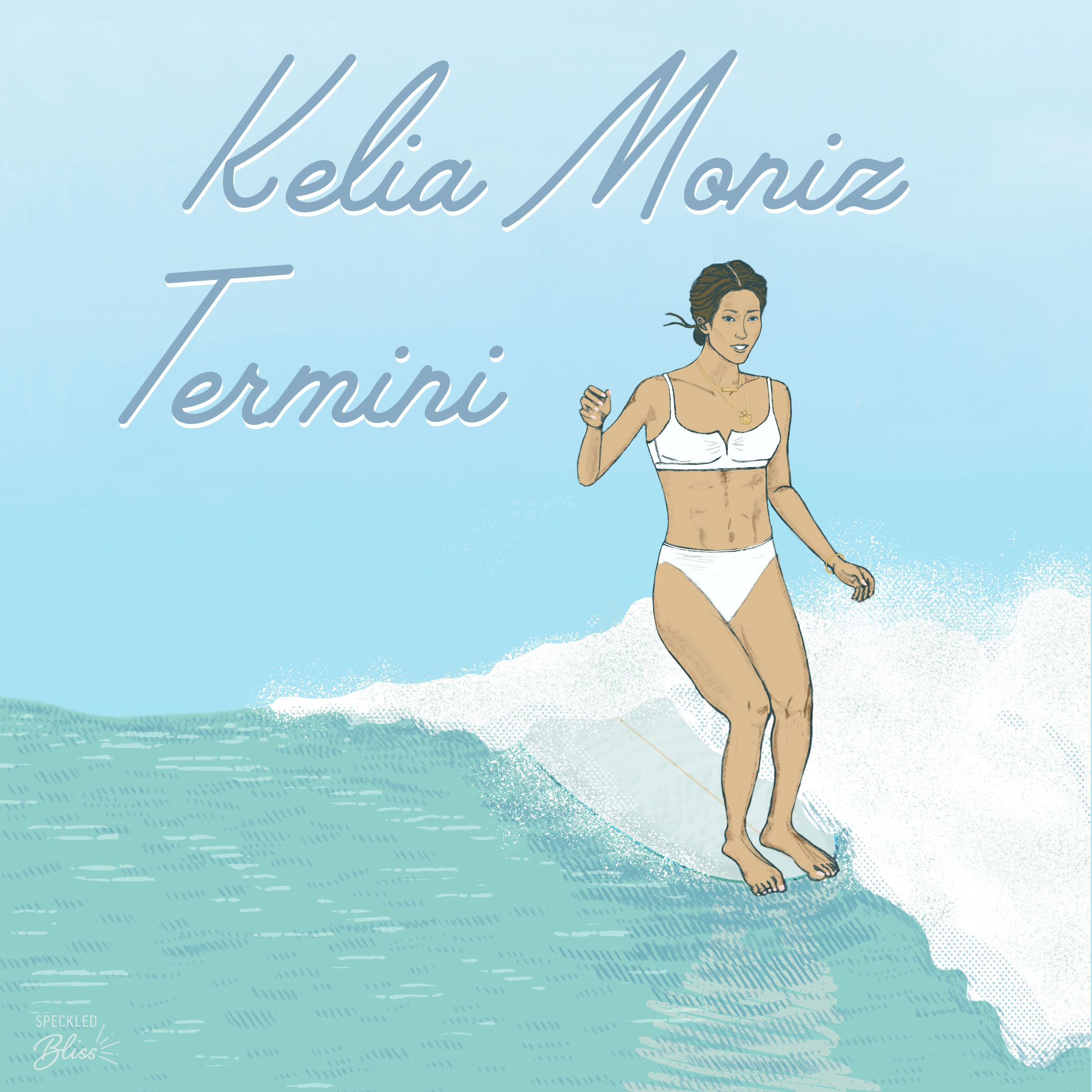 Meet Kelia Moniz Termini. Two-time WSL Longboard Champion and one of the beautiful faces of Roxy. You can call her Sister.   Born & raised into a surf family on the south shore of Oahu, she is the only sister out of 5 siblings.   Though she's been out of the competition scene for a few years, she's back at it again at the Noosa Longboard Open, which is going on now til Sunday (take into account the different timezones if you want to watch it live on  @wsl !). Her graceful surfing style is filled with finesse.  Her carefree, down to earth vibes, and closeness she has with her family are what I admire most. Not to mention her IG stories crack me up & are fun to watch! You can follow along the ride at  @keliamoniz !