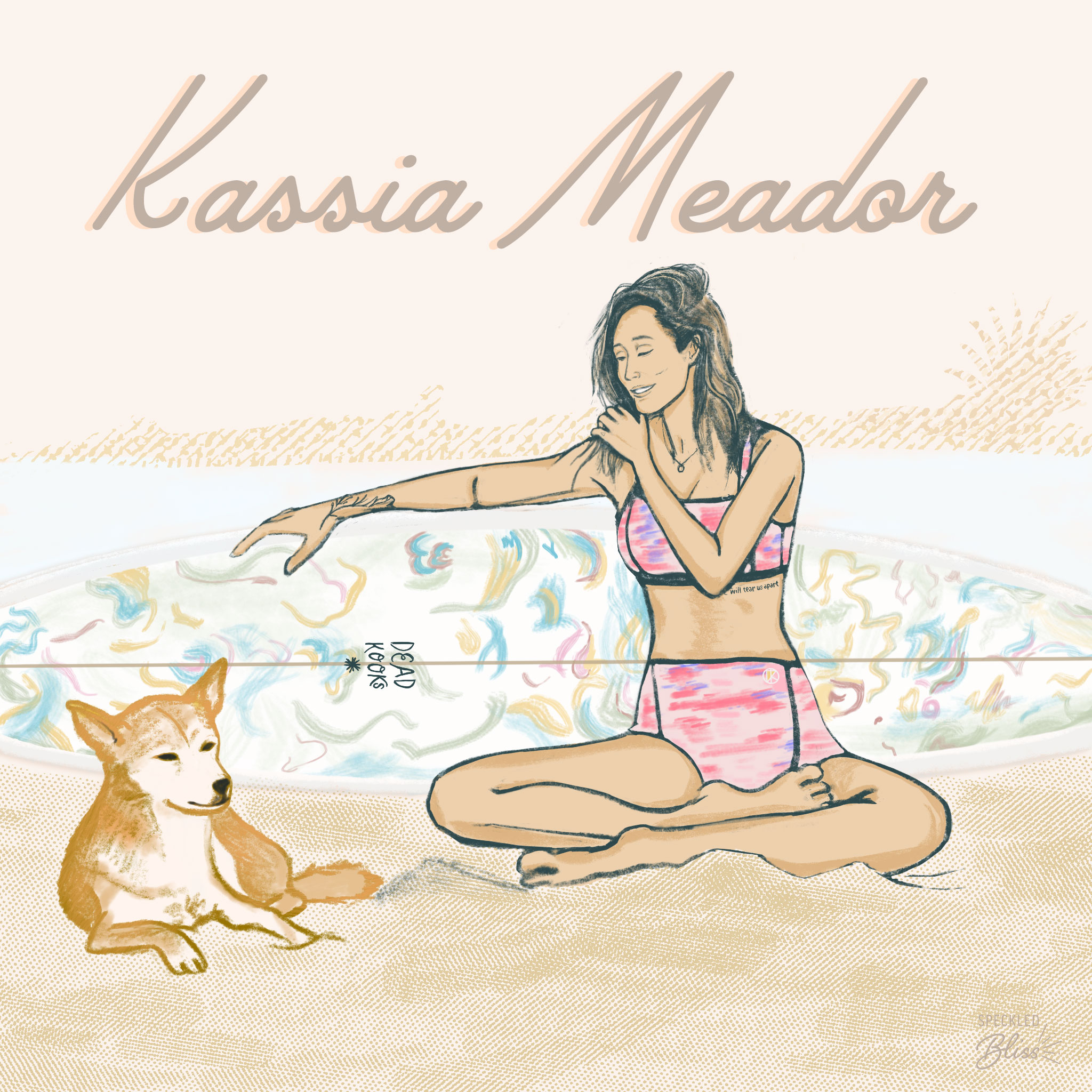 "Meet Kassia Meador. Surfer, Designer, Photographer. California born & bred. Crowned ""Queen of Noseriding"" by the New York Times in 2011.   Throughout her 17 years of longboarding as a pro, she designed activewear and products under her sponsors like Roxy. Her entrepreneurial spirit led her to naturally evolve creatively and start KASSIA+SURF, her own line of eco-conscious wetsuits for women, which has their own wetsuit recycling program. She also leads surf, yoga, & sound healing retreats to connect with her community.   What I admire about Kassia is that, in more ways than one, she inspires and empowers women to expand their minds, bodies, and souls through healthy active lifestyle choices and experiences. Now that's a mission I can get behind!  You can support & follow Kassia at  @kassiasurf"