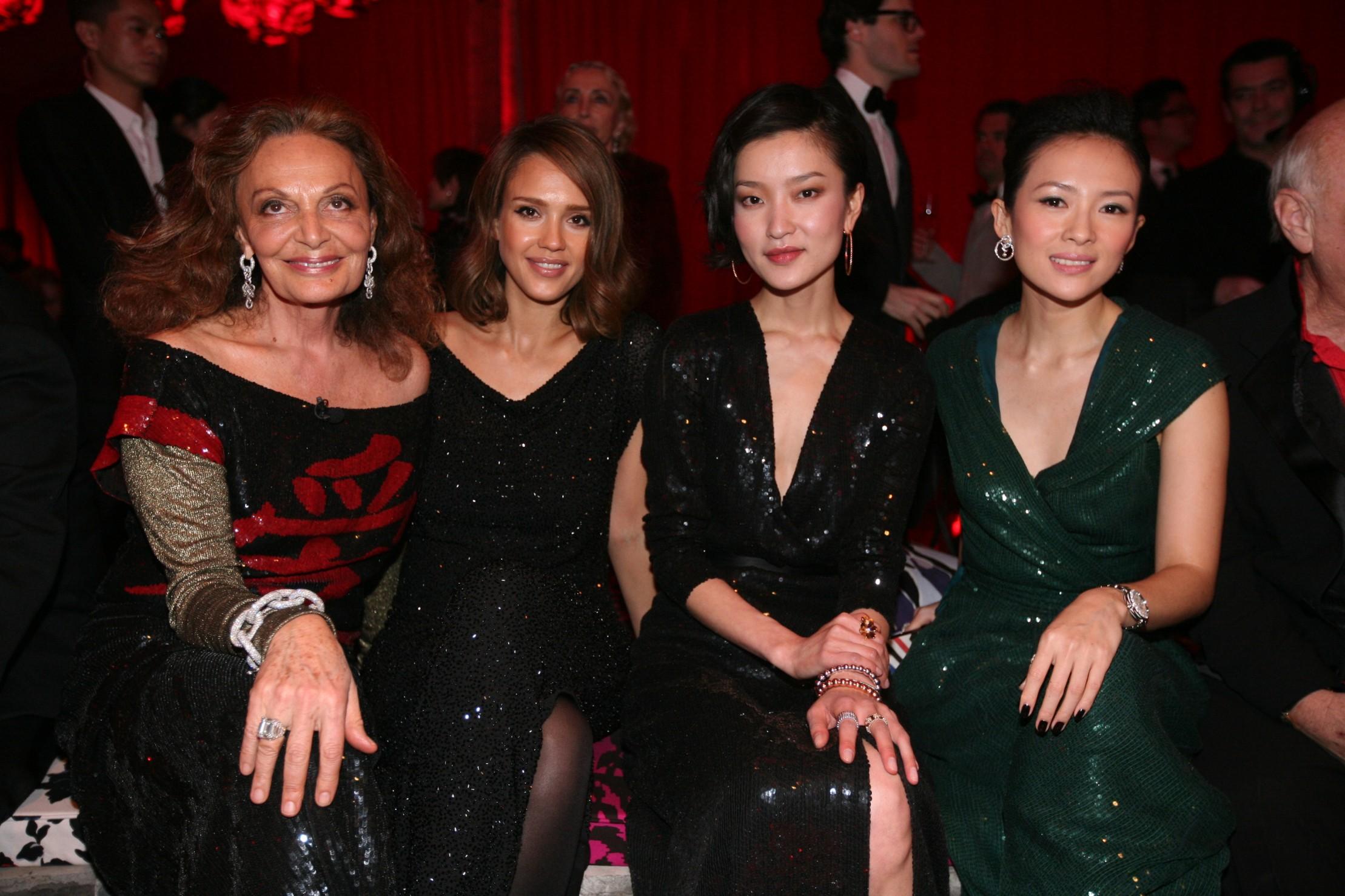DVF, Jessica Alba, Du Juan & Zhang Ziyi.JPG