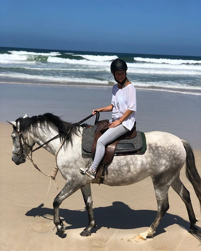 Mother and daughter team!! #theranchbyronbay #byronbay #horseriding #horses #horseride #andalusian #purarazaespañola