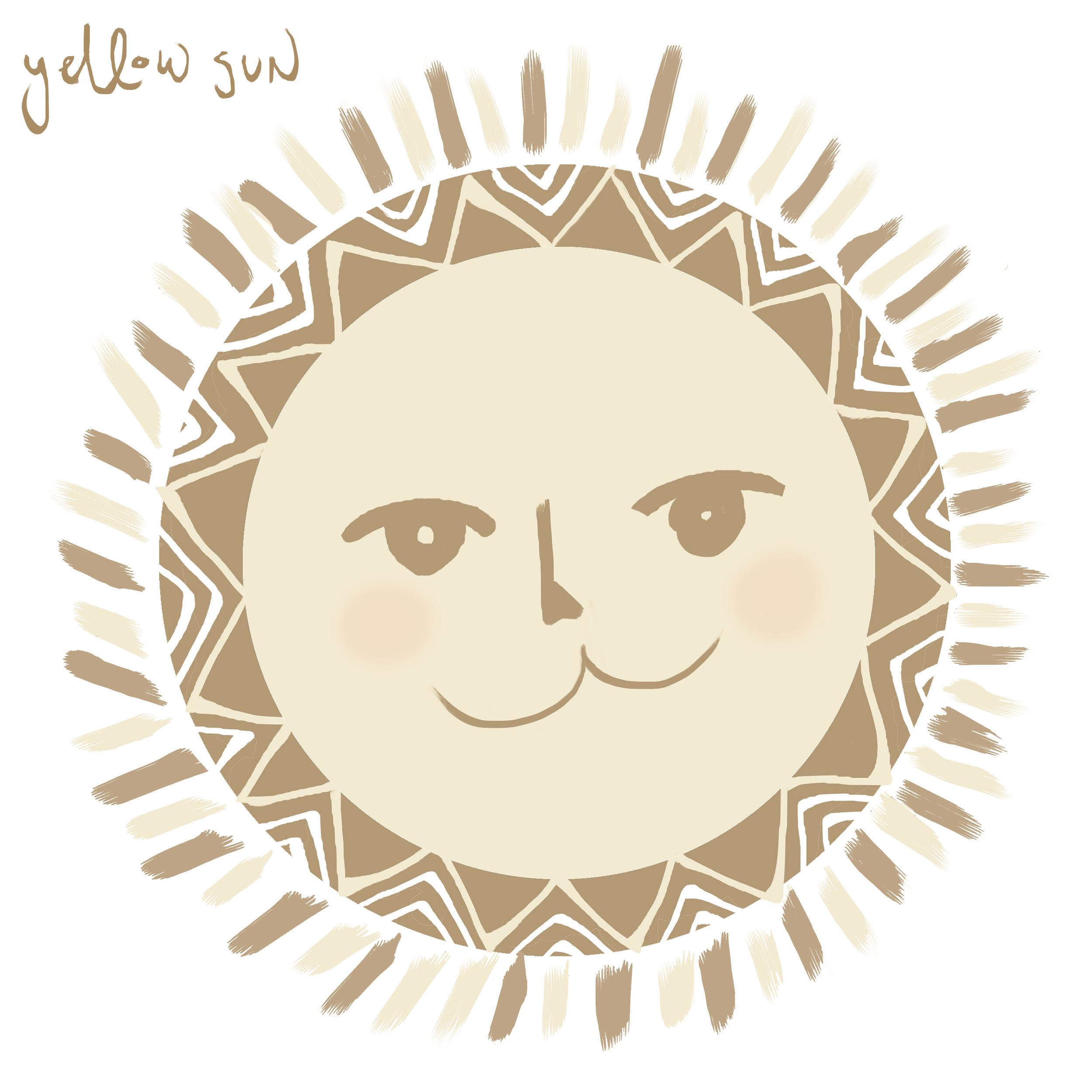 andysixstring yellow sun single