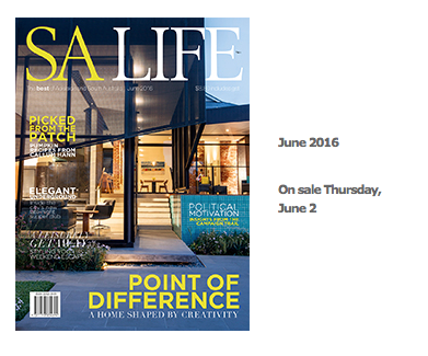 The cover and feature in the June 2016 SA Life