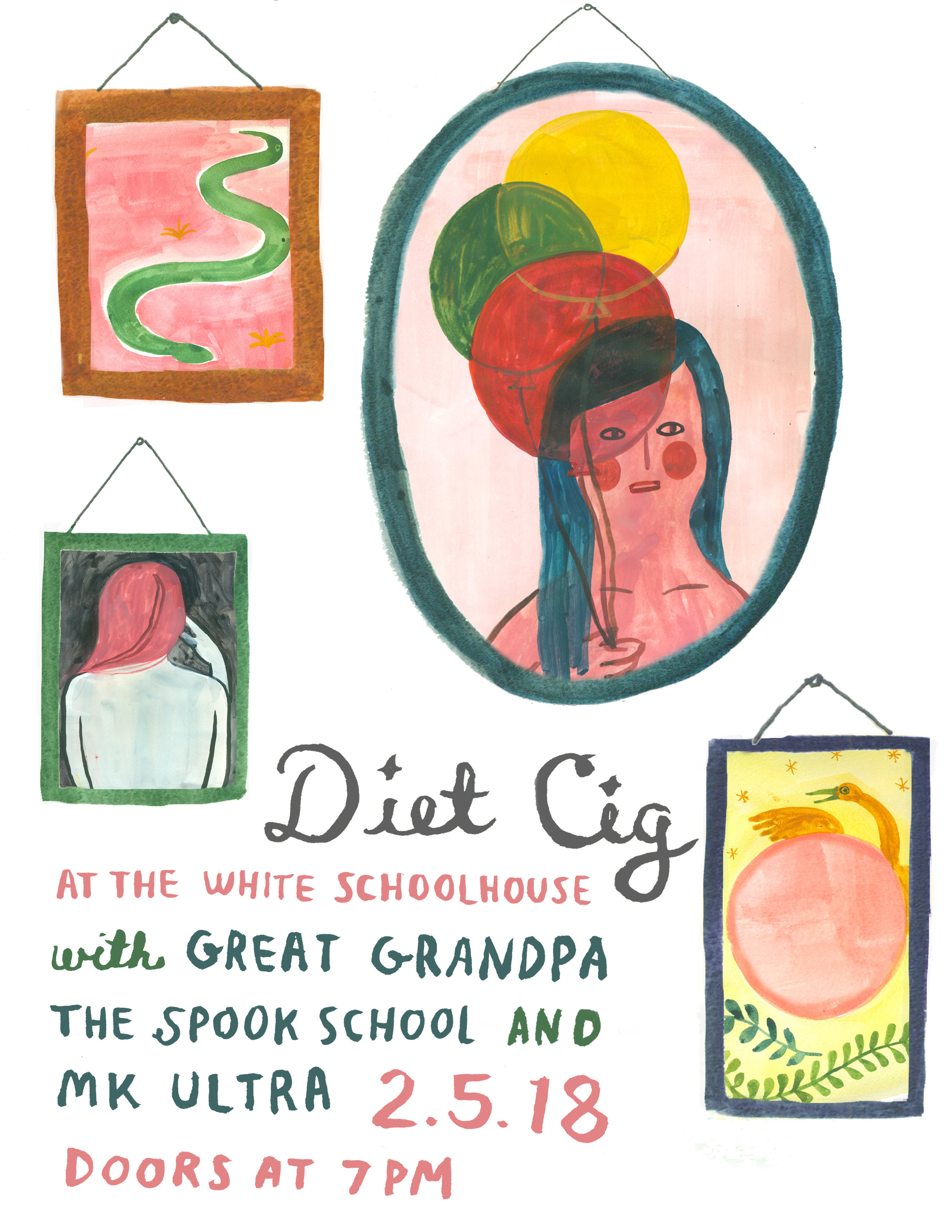 Diet Cig • 2.5.18 • White Schoolhouse