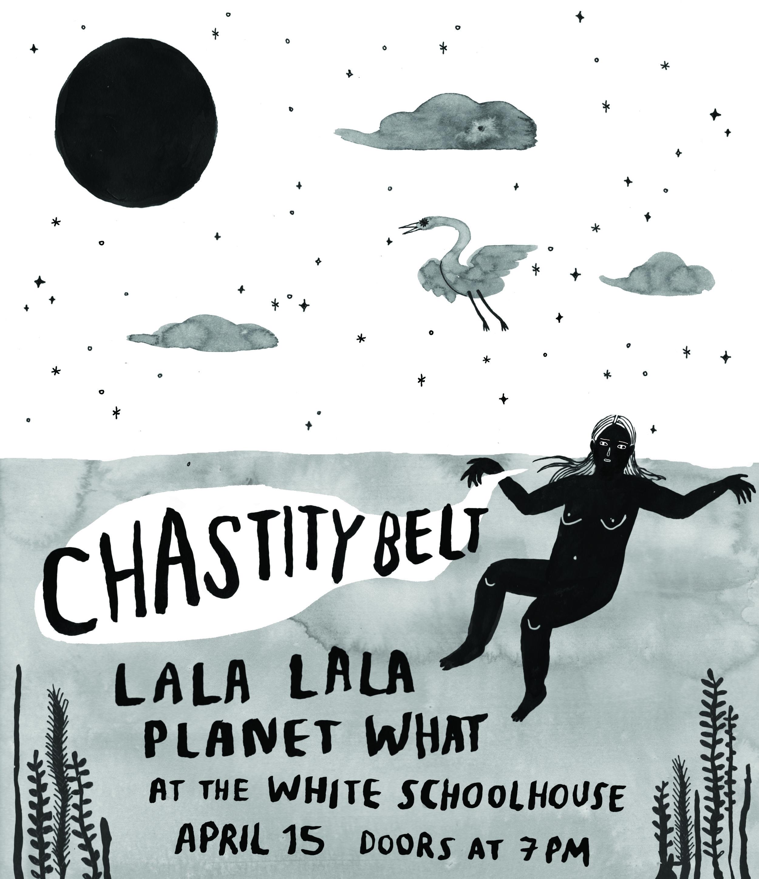 Chastity Belt • 4.15.18 • Lawrence, KS