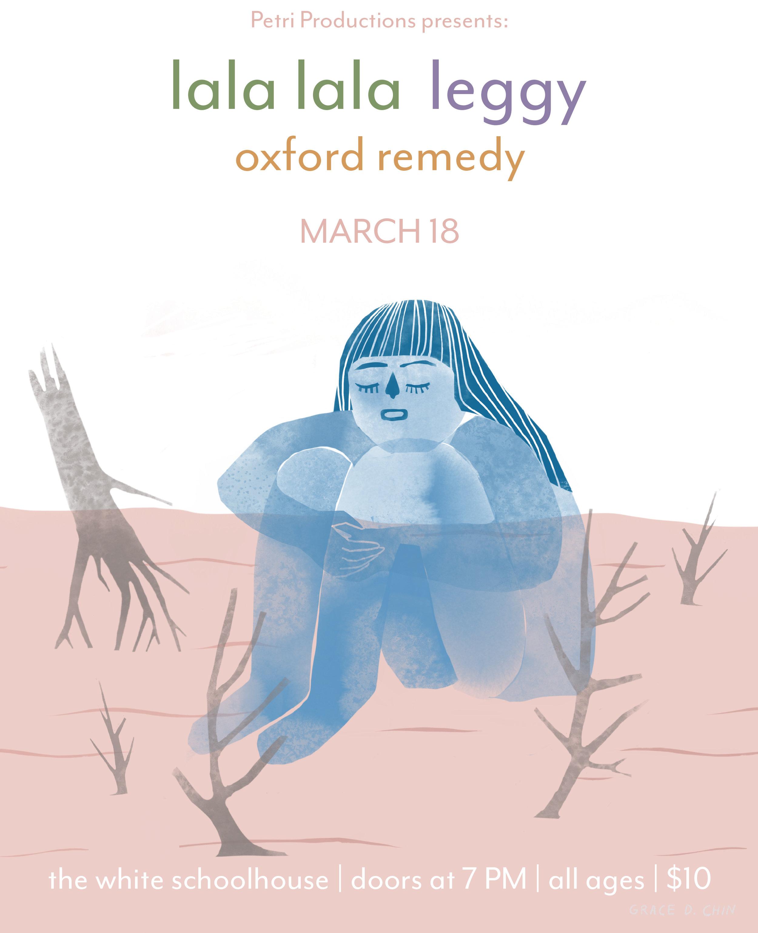 Lala//Leggy • 3.18.19 • White Schoolhouse