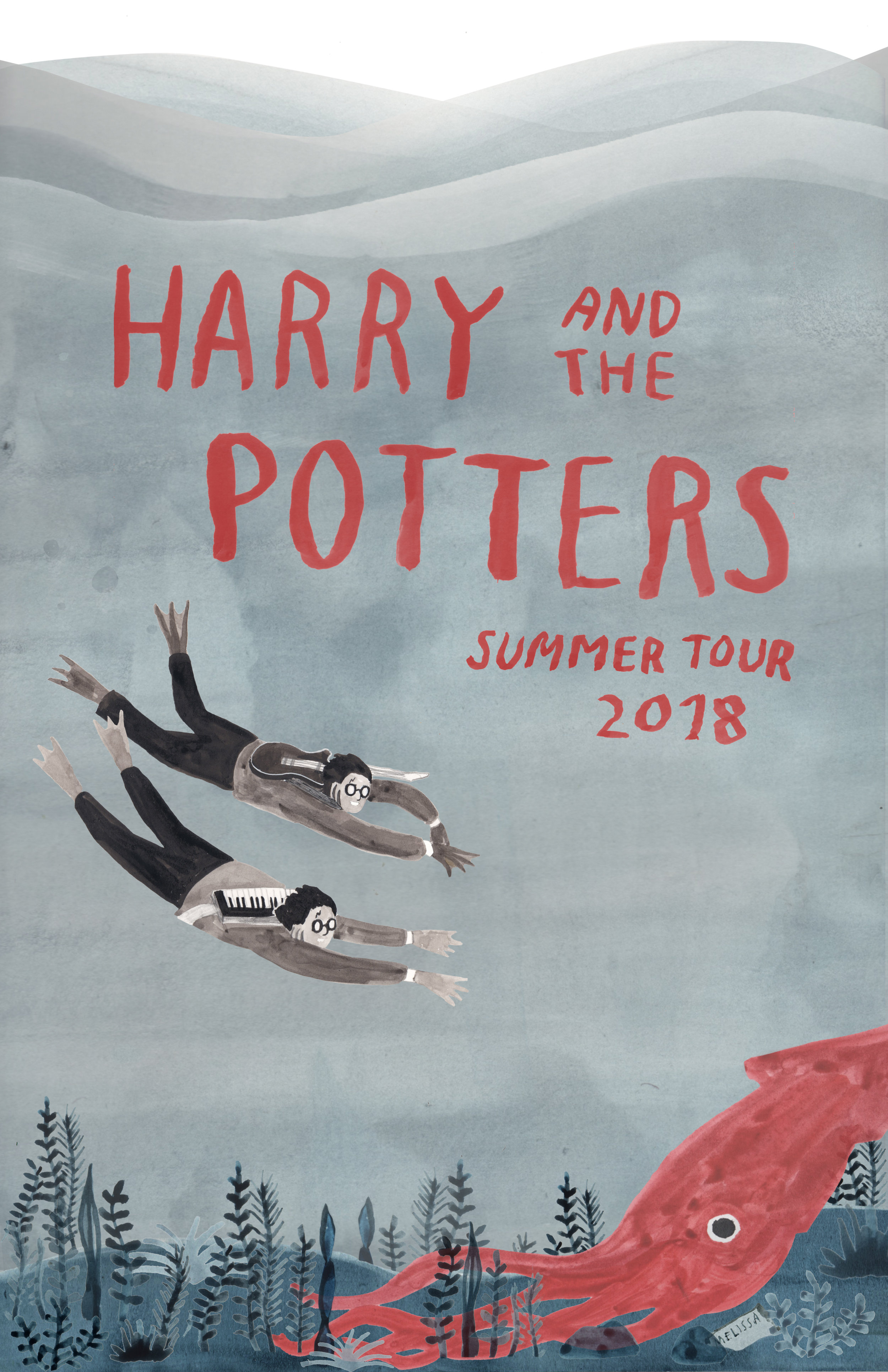 Harry & the Potters • Summer Tour 2018