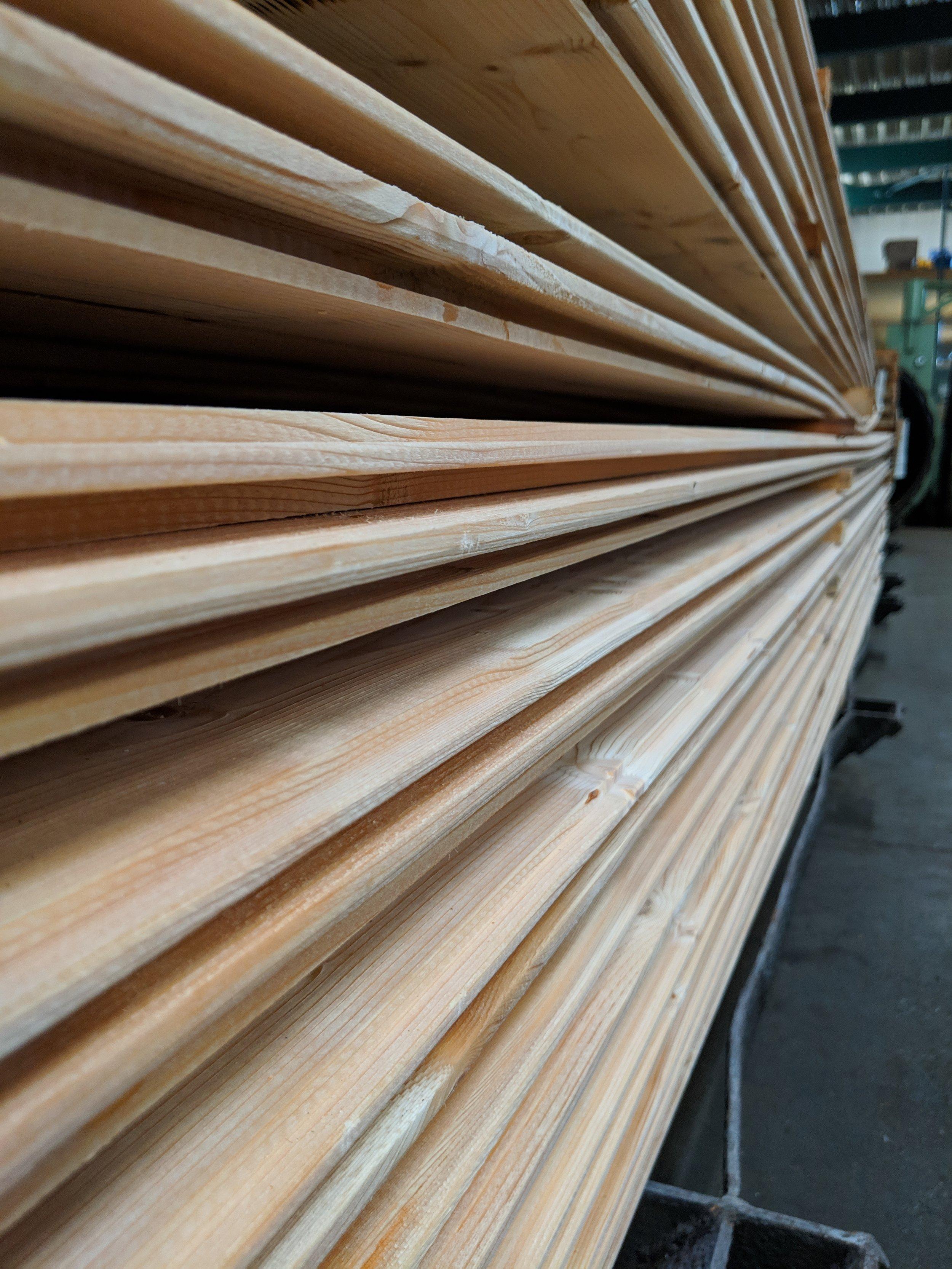 Holz frisch nach farbloser Imprägnierung