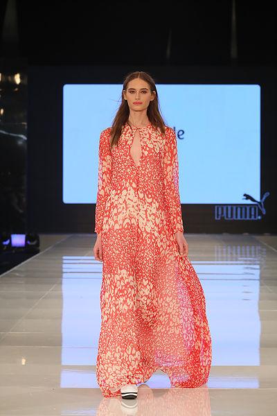 מתוך תצוגת שבוע האופנה גינדי תל אביב, טובה'לה(צילום: אבי ולדמן)
