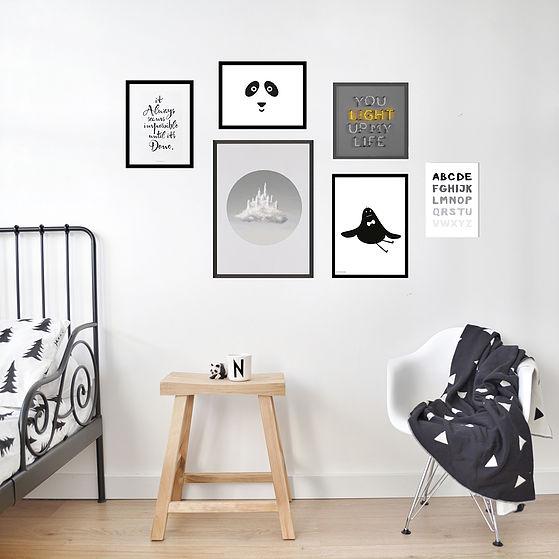 קיר גלריה שש תמונות 315₪ להשיג ב petek-design.com  (עיצוב וצילום פתק דיזיין)