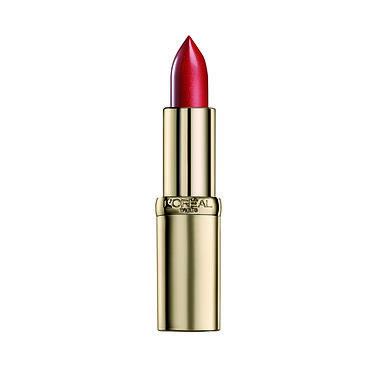 """שפתון אדום """"לוריאל פריז""""קולור ריש (צילום יחצ חול)"""