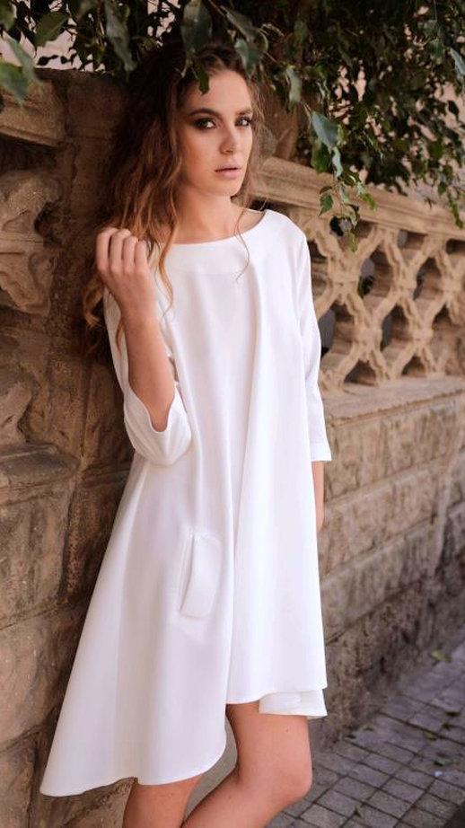 """שמלת אוברסייז , 379 ש""""ח,ISABELLA (צילום אור יניב)"""