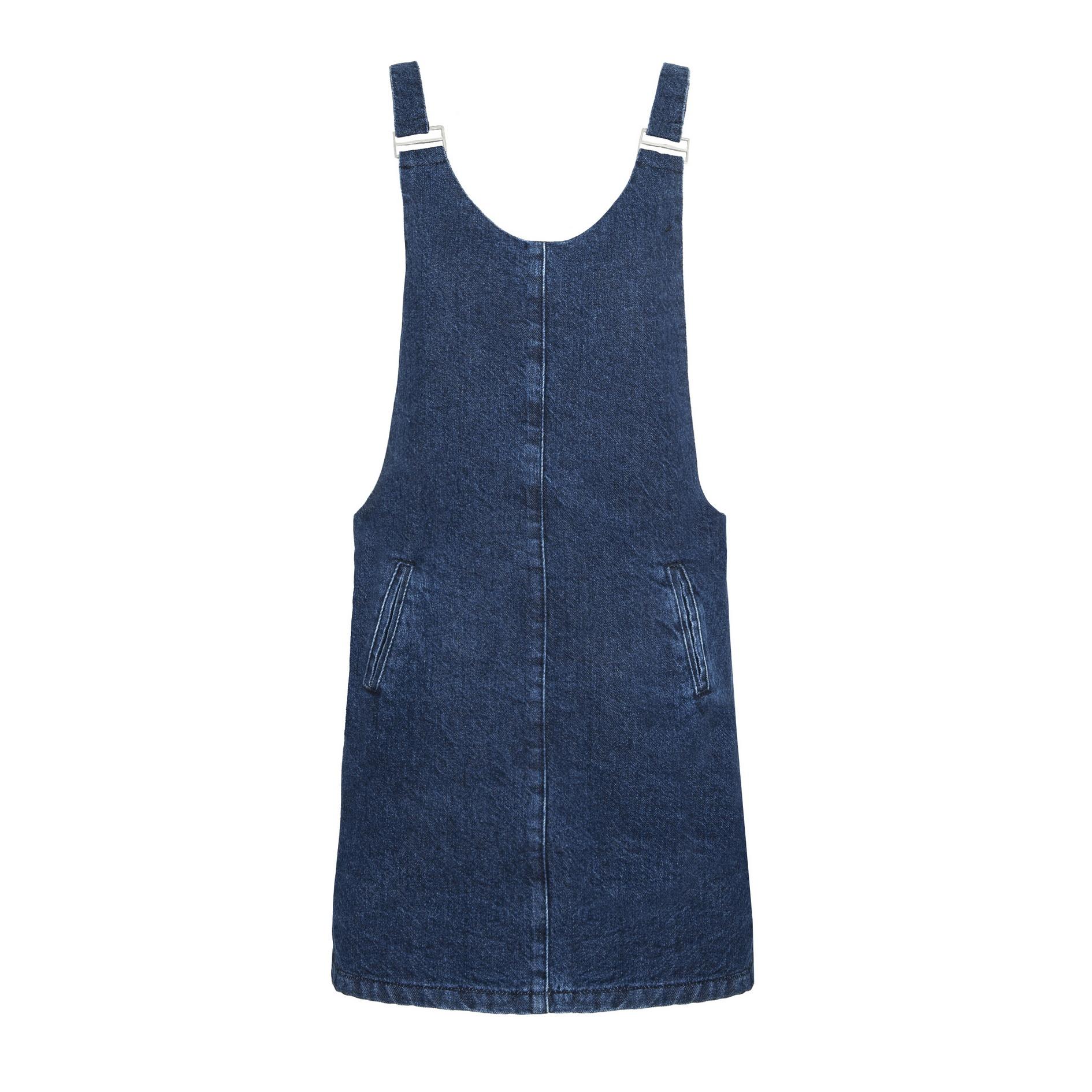 "PULL AND BEAR שמלת ג'ינס קלילה 170 ש""ח"