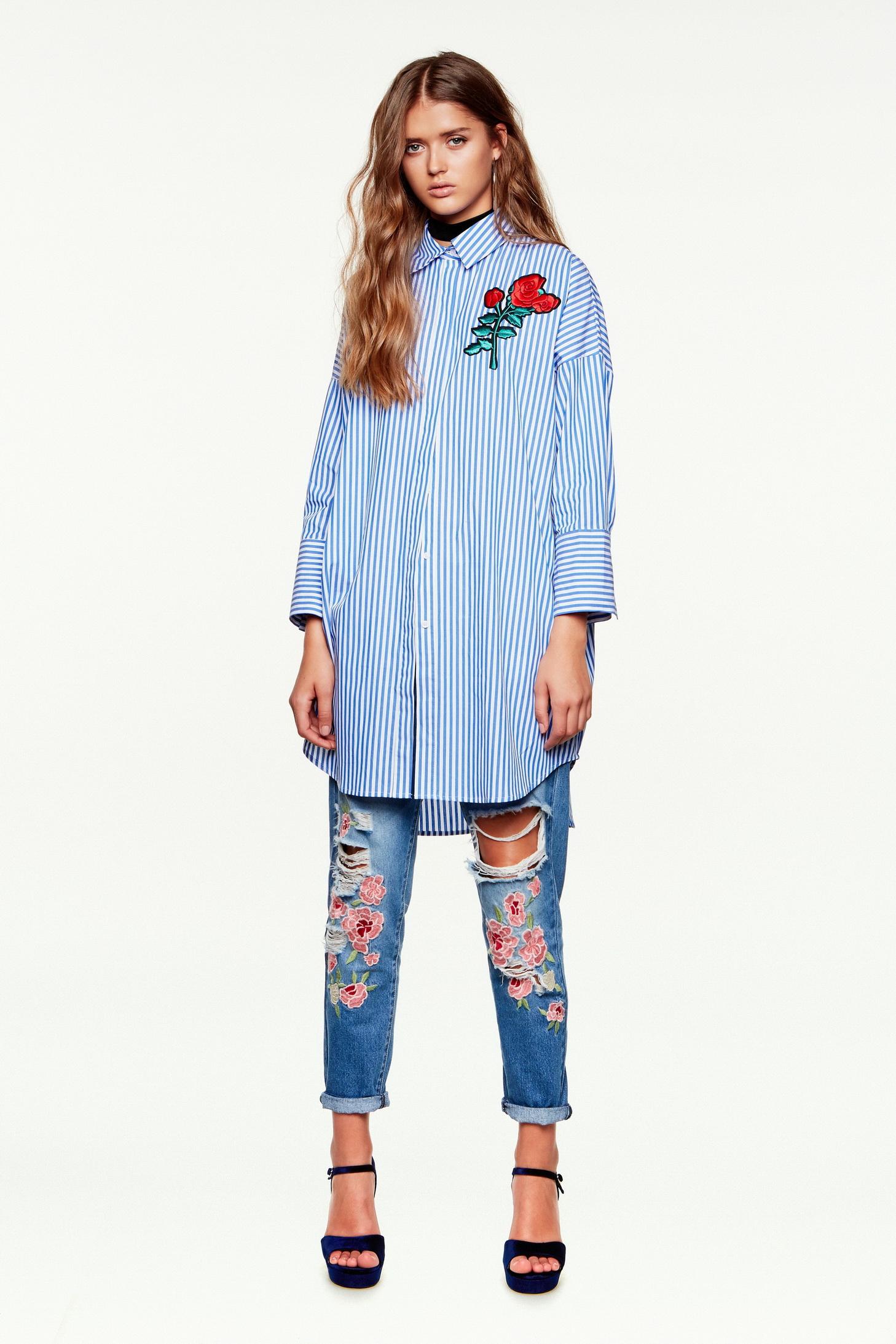 """קסטרו  קולקציית ג'ינסים חורף. חולצה 179.90 ש""""ח ג'ינס 199 ש""""ח(צילום טל קרת)"""
