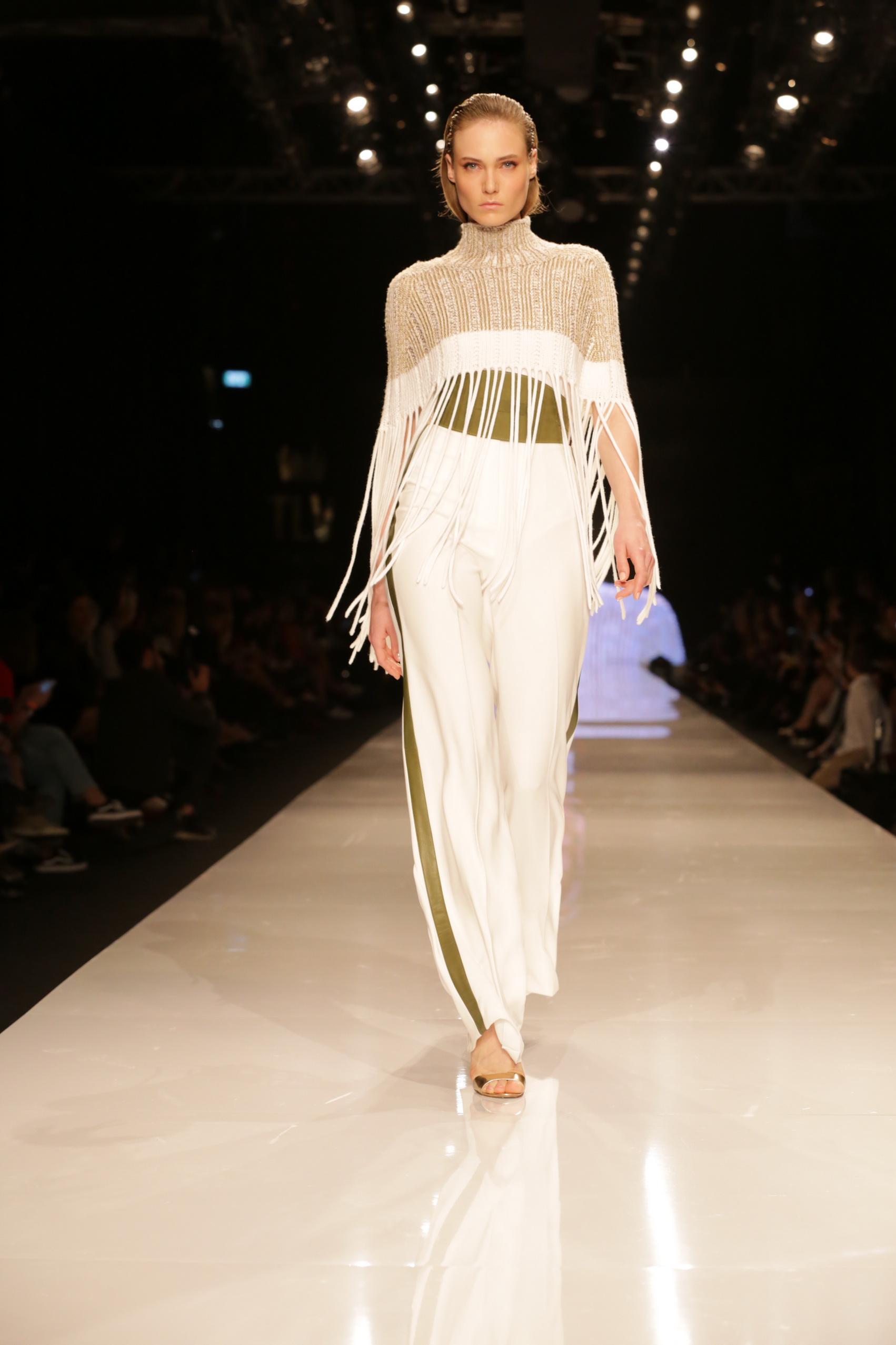 שי שלום בשבוע האופנה גינדי תל אביב(צילום: אבי ולדמן)
