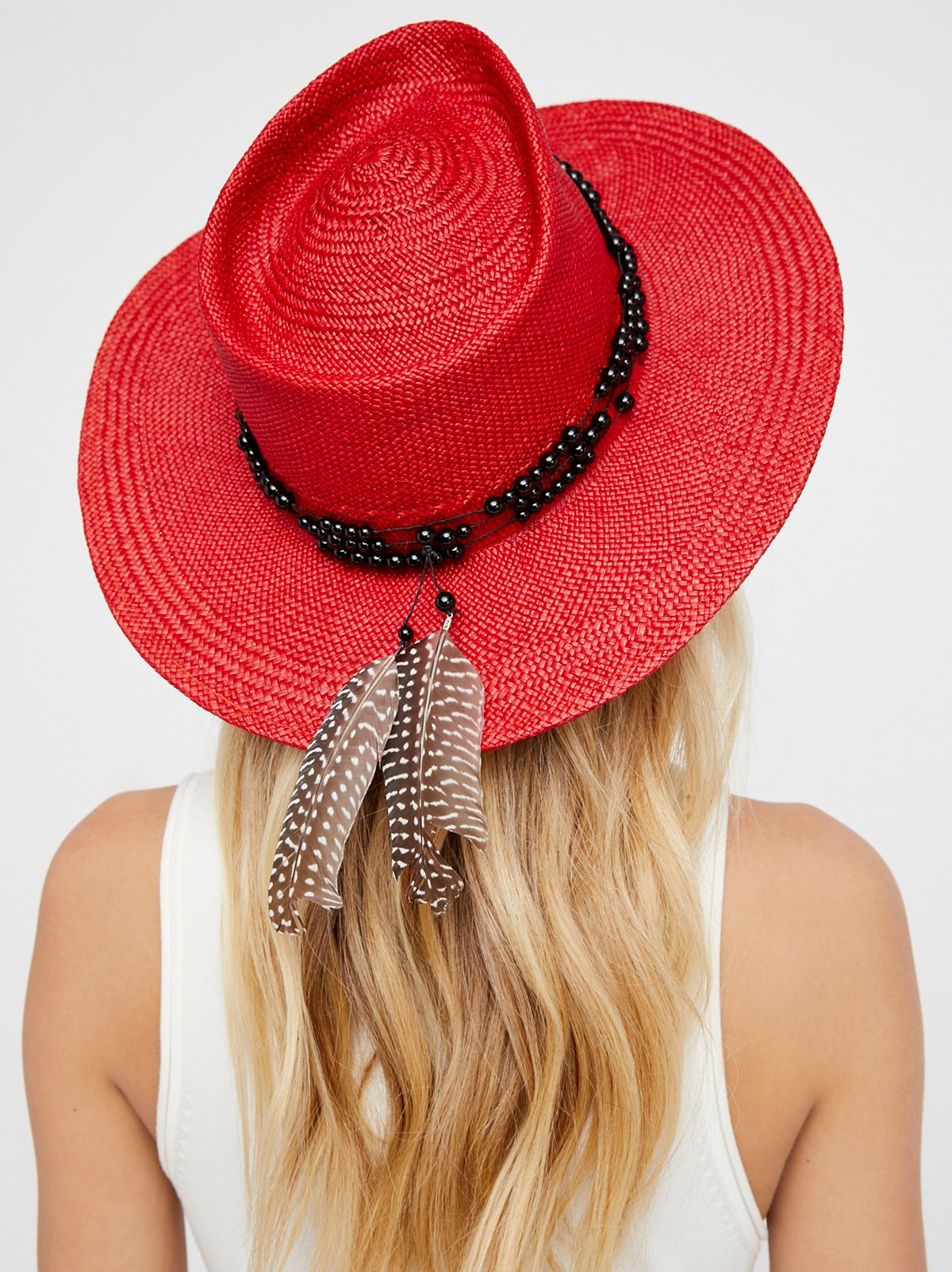 Dean Straw Panama Hat,    Free People   , 400$
