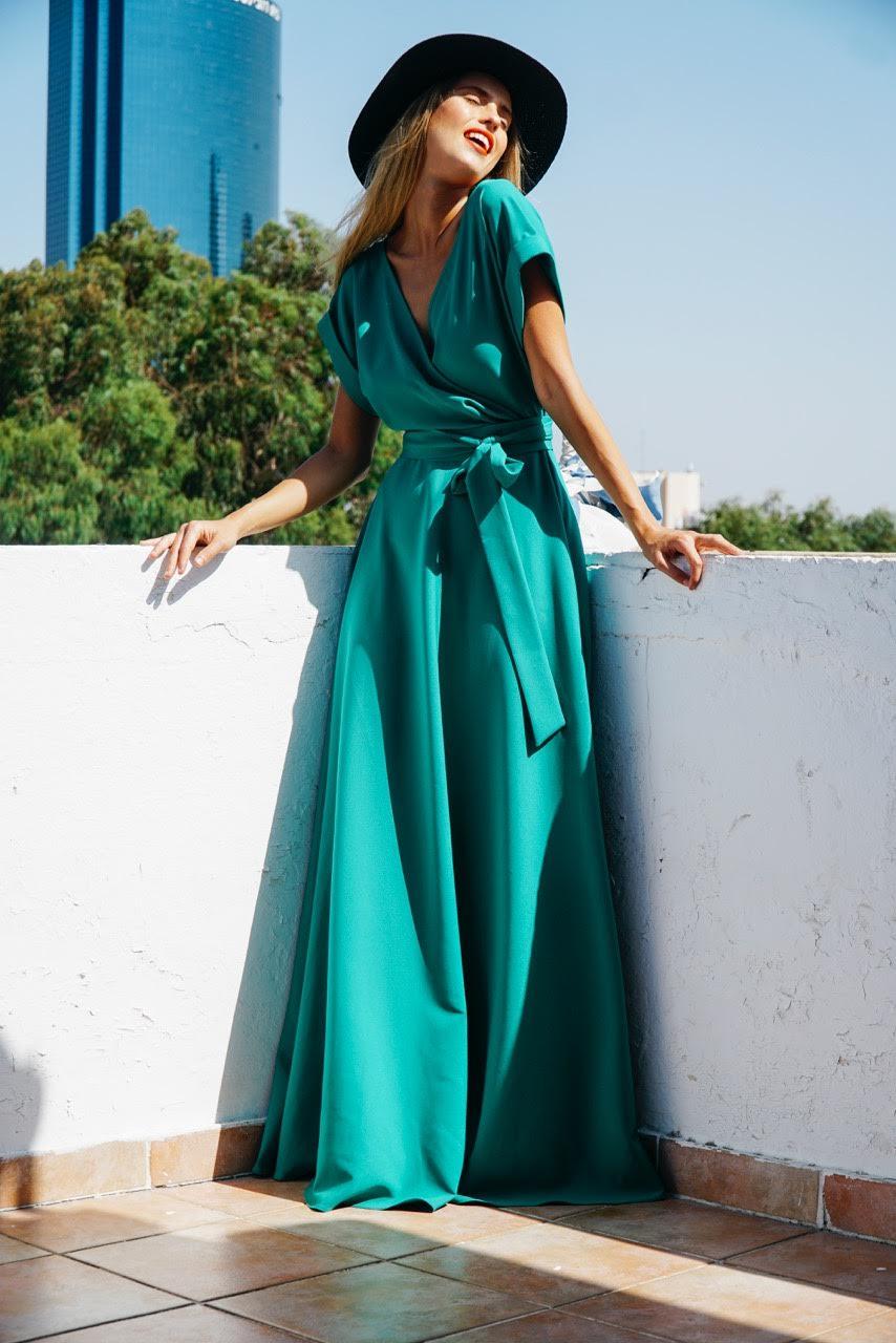 ״מונה ליסה״ שמלת מעטפת (צילום:telaviver)