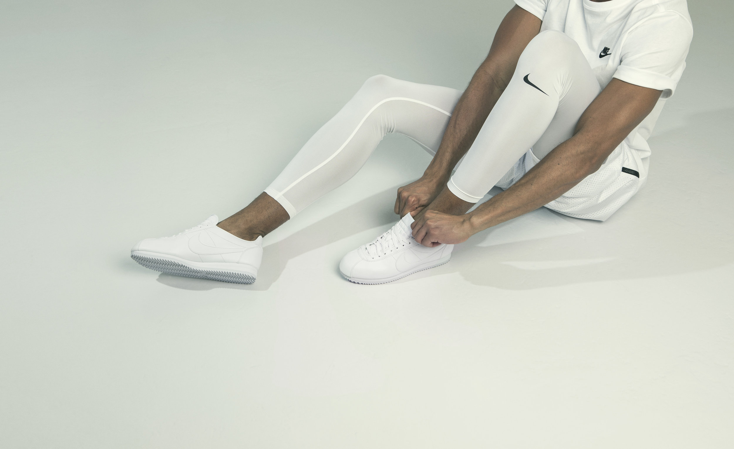 nike white collection