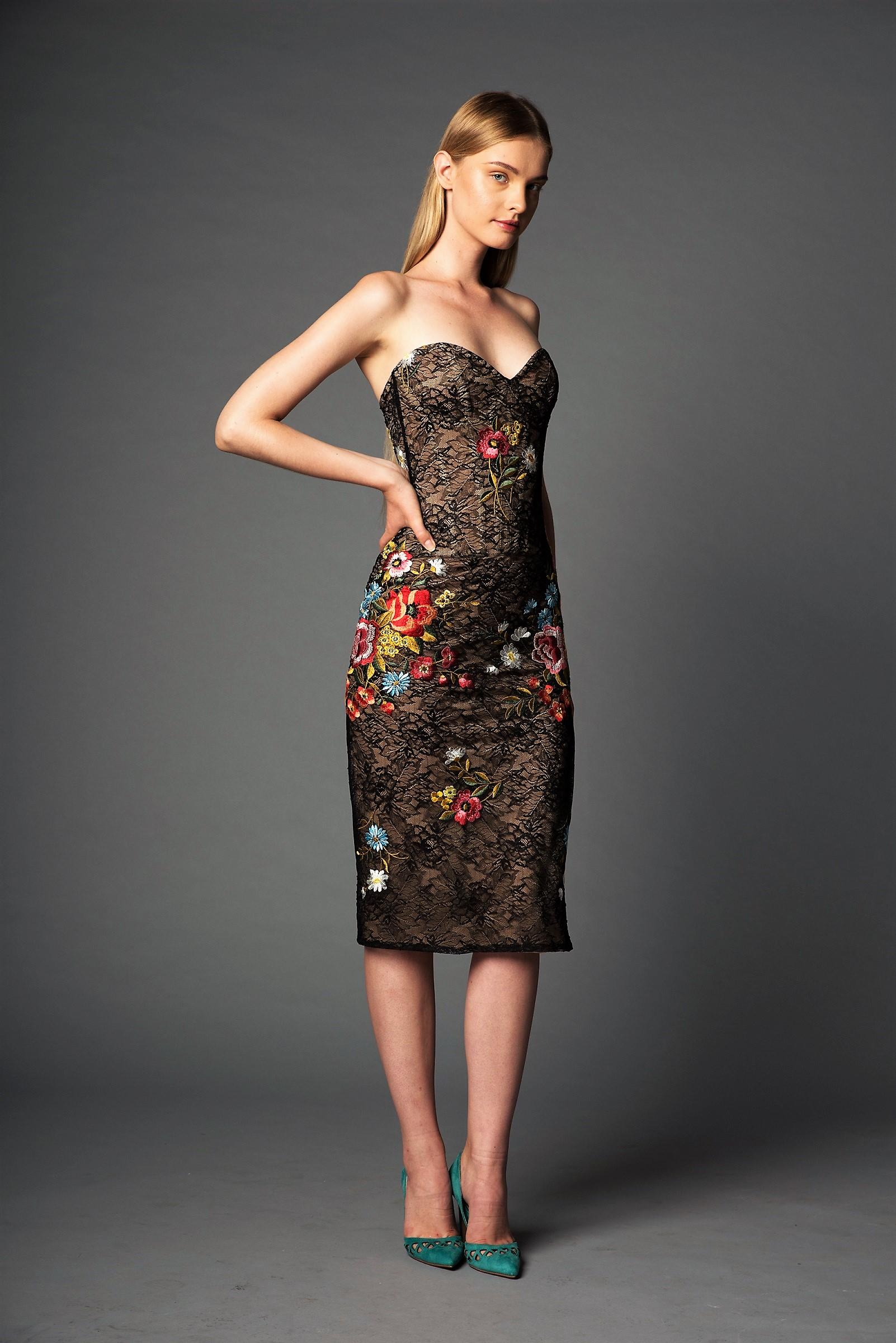 שמלה בעיצוב  ים יאגודייב  5,800 ש״ח (צילום גיא נחום לוי)