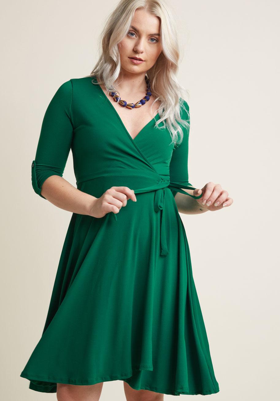 שמלת מעטפת MODCLOTH