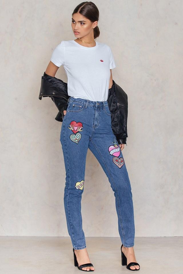 ג׳ינס מעוטר פאצ׳ים, 35.98$ קליקלרכישה